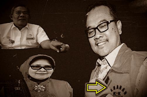 Ketua DPRD Riau Septina Bungkam Soal Dana Fiktif