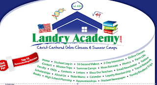 Online Homeschool Classes at Landry Academy