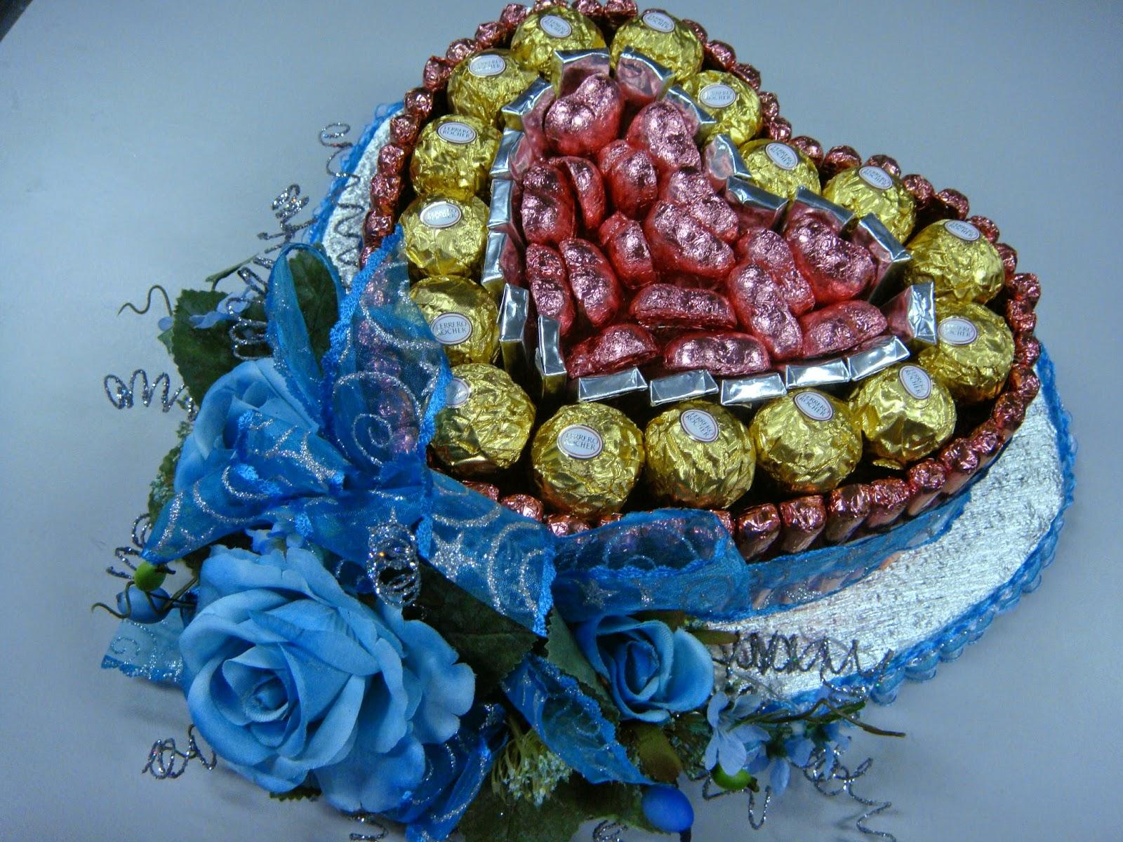 pin gubahan hantaran cokolat - photo #4