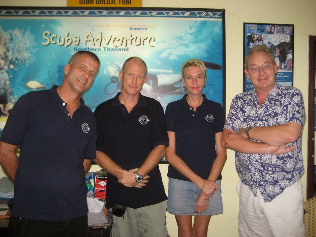 New cooperation with PADI 5* IDC Center 'Easy Divers' on Koh Samui, Thailand