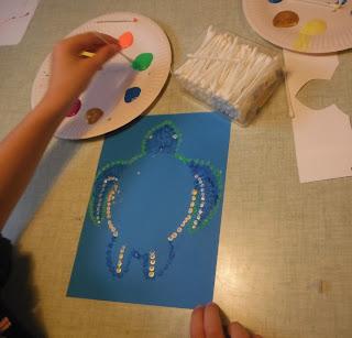atelier arts plastiques peinture enfant créations manuelles créatives savenay loire atlantique nantes saint nazaire