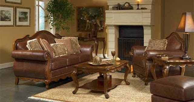 Living room decorating ideas with brown leather furniture for 4 h decoration ideas