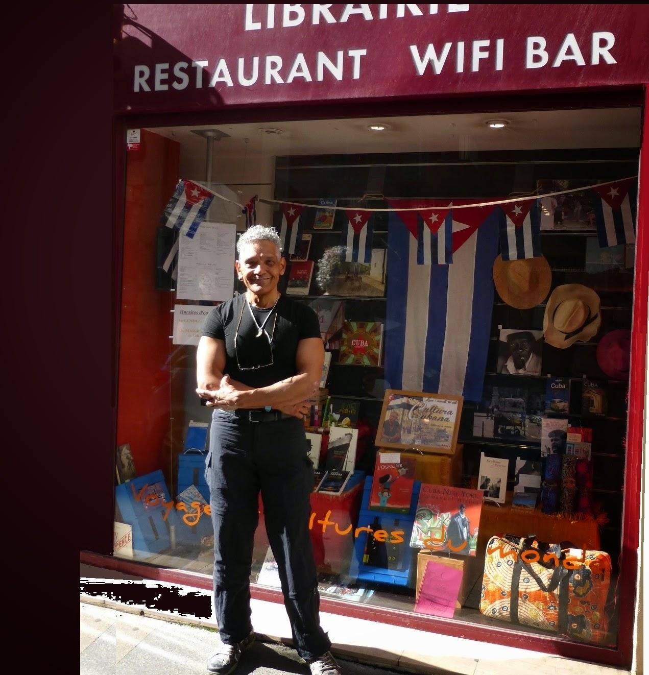 jornada cubana en la libreria Raconte moi la Terre (Lyon)