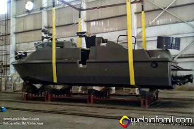 Lanchas LPR-40 Exercito Brasileiro
