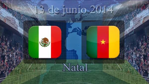 InfoMixta - PARTIDO - FUTBOL - MEXICO VS CAMERUN, BRASIL 2014 - ONLINE