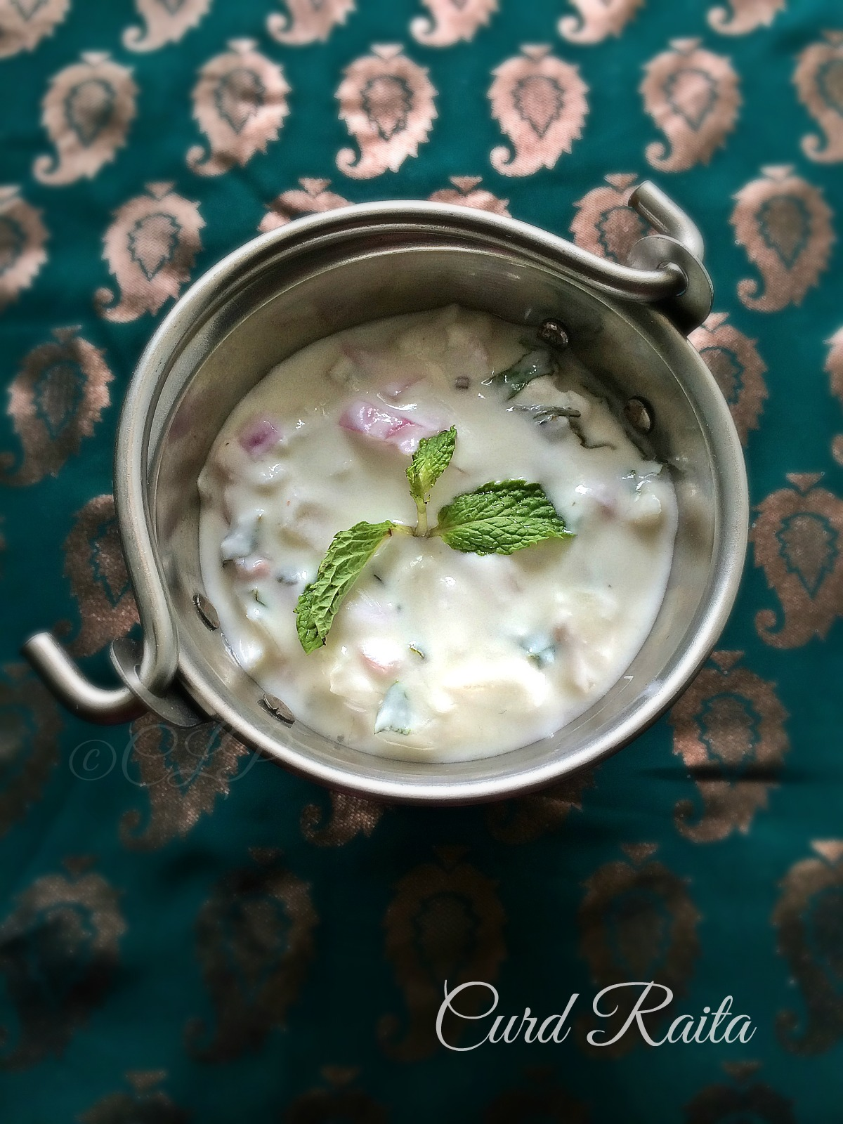 Onion Mint Raita