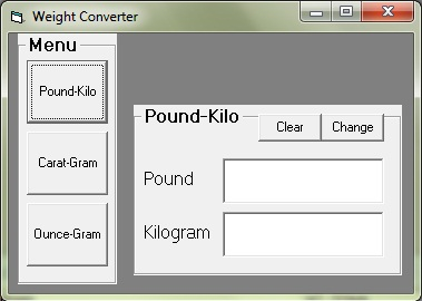 Converting from one weight unit to another