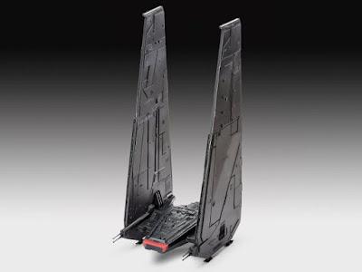 TOYS : JUGUETES - Revell easykit 06695 : Star Wars 7  Kylo Ren's Command Shuttle  El Despertar de la Fuerza - The Force Awakens Película Disney 2015 | Level 2 - 53 Piezas | A partir de 8 años comprar en Amazon España & buy Amazon USA