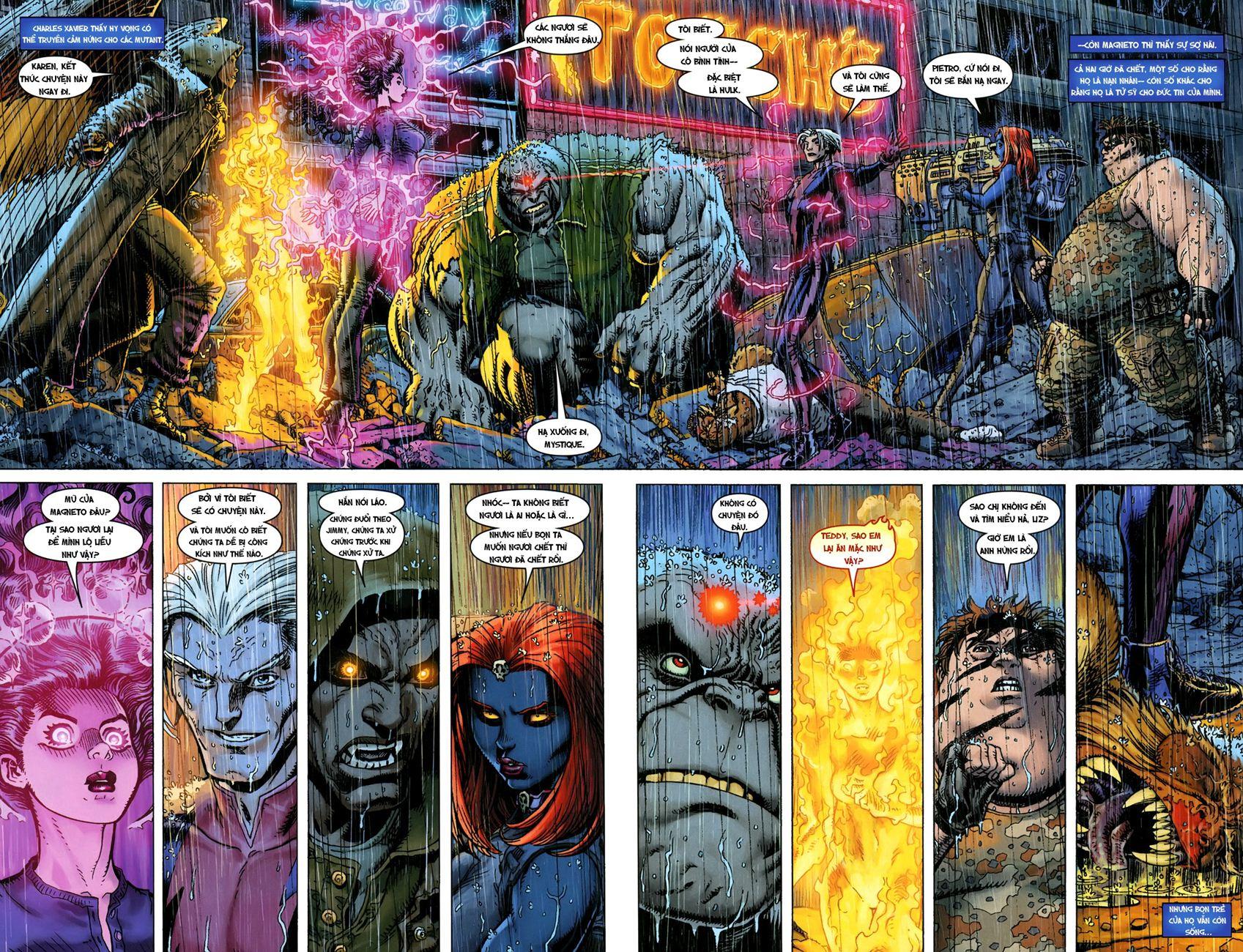 TruyenHay.Com - Ảnh 15 - Ultimate Comics X Chap 5