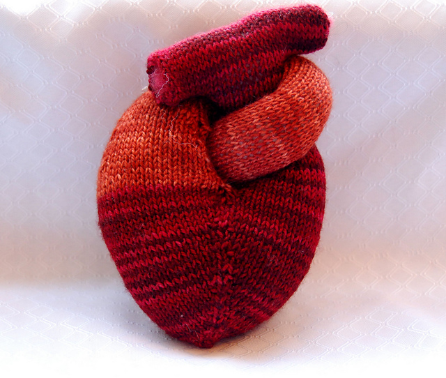 Adventures of a Nervous Knitter: FO Friday - Belated Valentine's Love
