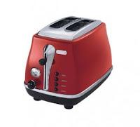 Buy Delonghi CTO 2003 900 W Pop Up Toaster at Rs.3,019 Via Amazon: buytoearn