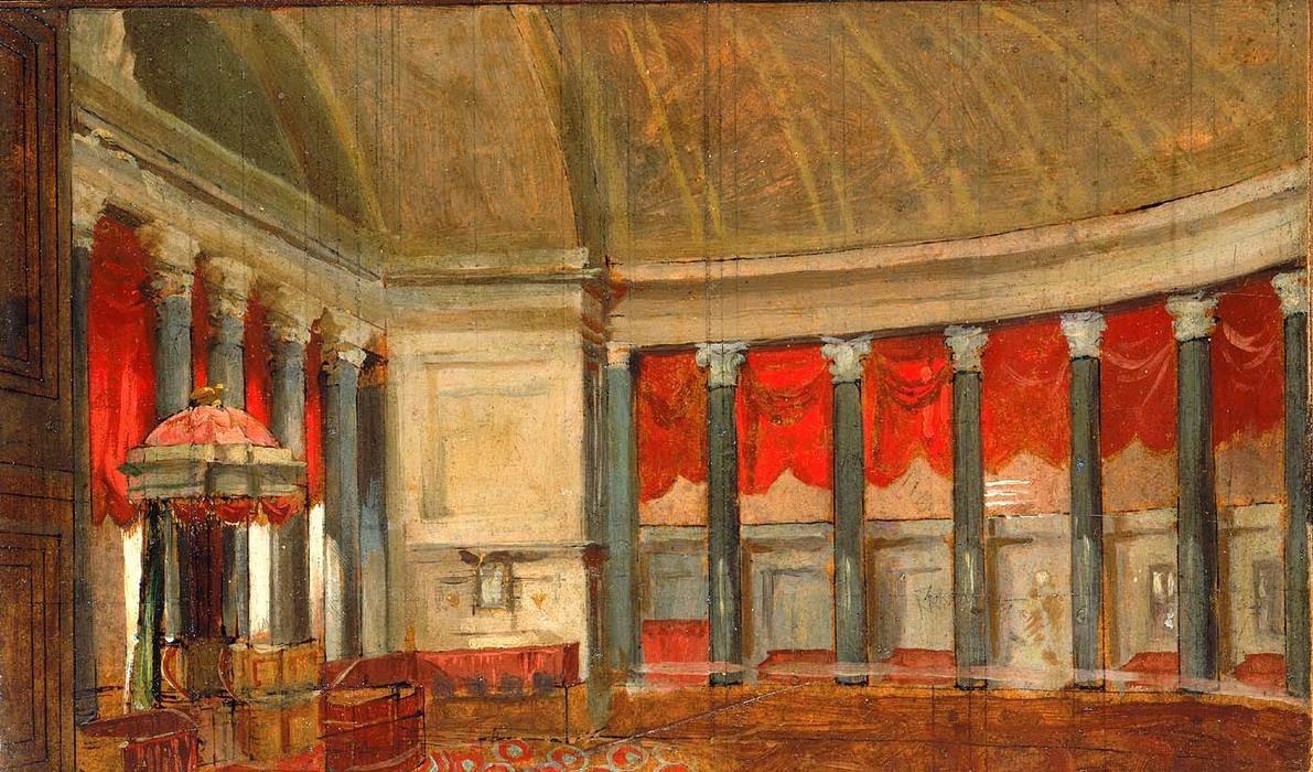 Samuel morse gallery of the louvre tuttart