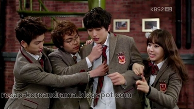 All about korean drama : Queen Bee: Sinopsis Dream High 2 episode 8