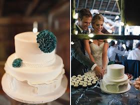 Minnesota Barn Wedding Cake