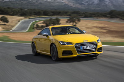 Audi TTS Samochodem Roku Playboya