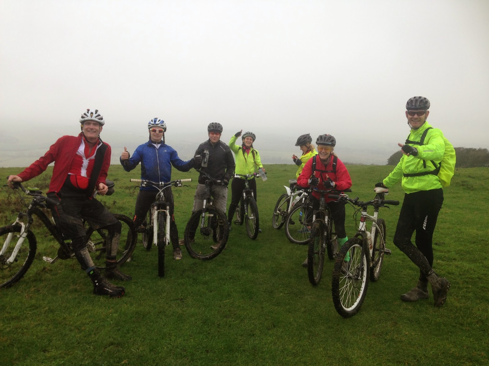 BTRS Mountain Bike Brighton to Eastbourne - South Downs Way