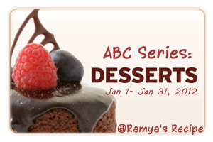 Ramya's Dessert Event