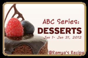 Ramya's Dessert Event