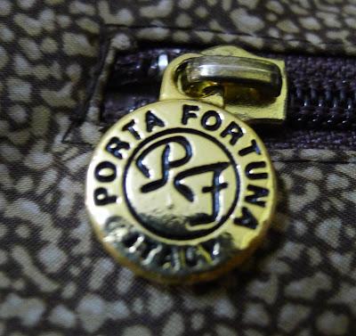 Authentic PORTA FORTUNA 2 Way Nylon Tote Bag