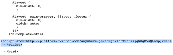 tweet box javascript