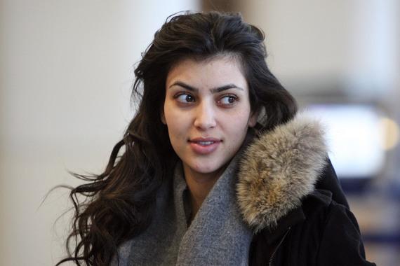 Kim Kardashian Hair 2011