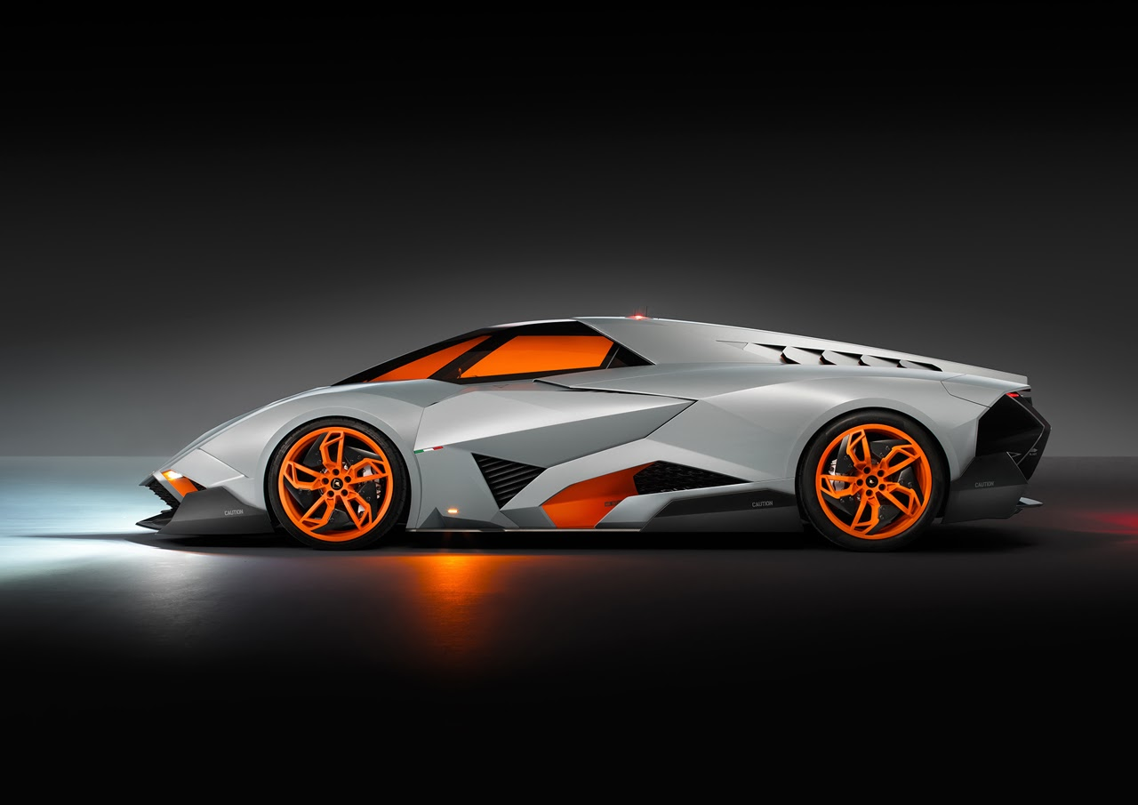 Egoista Lamborghini concept cars and cool single seat