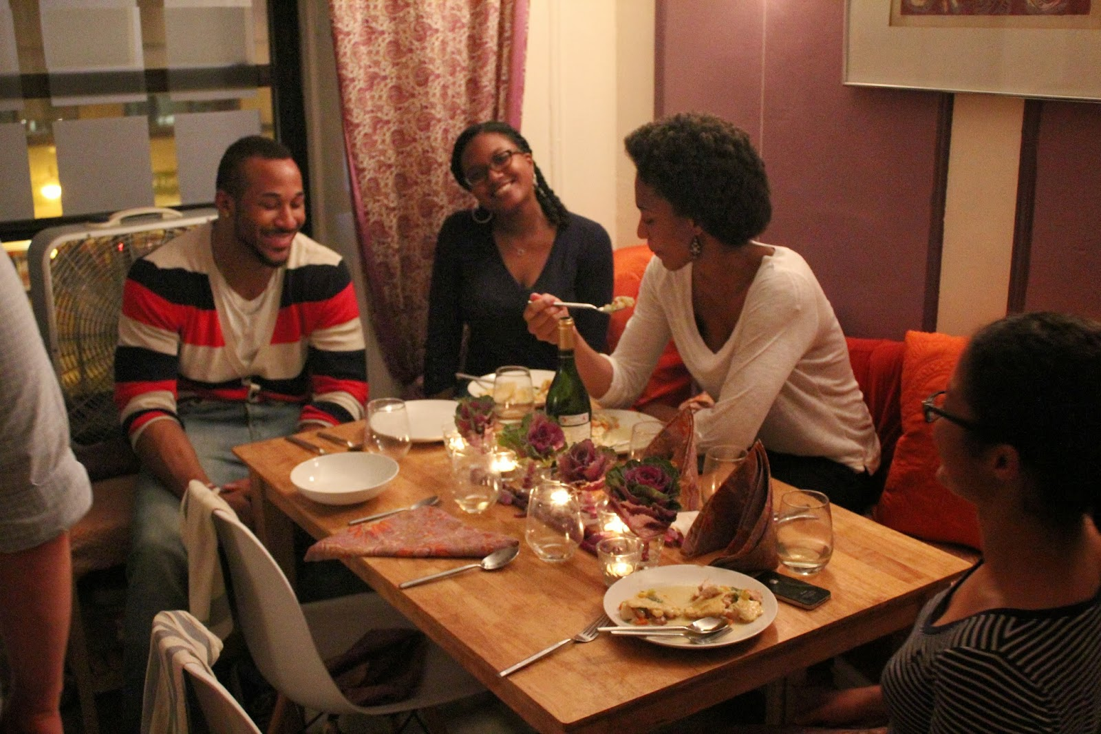 Runaway Apricot's Early Fall Dinner Party in Harlem