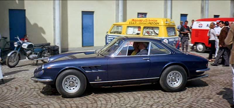 The Film Climaxes At Monza, Where Just As In Real Life, The Ferrari Boss  Makes His Only Appearance At The Track; In Grand Prix, Manetta Shows Up In  A Lovely ...