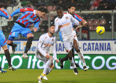 Catania 1 - 1 AS Roma (1)