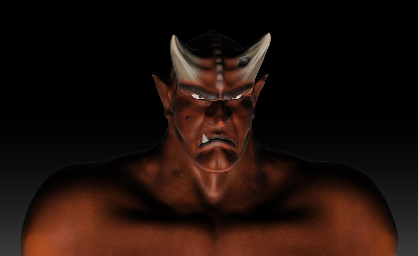 Demonios en 3D - Imagui