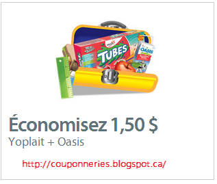 Coupon imprimable jus oasis