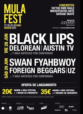 Mula Fest 2013 Madrid