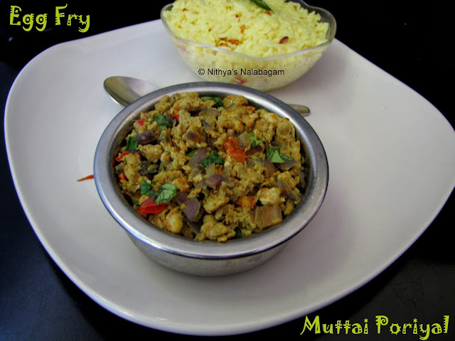 Egg Fry | Muttai Poriyal
