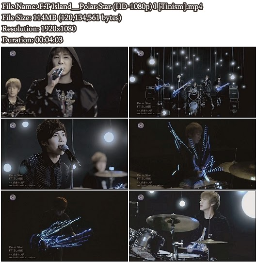 Download PV F.T Island - Polar Star (Full HD 1080p)