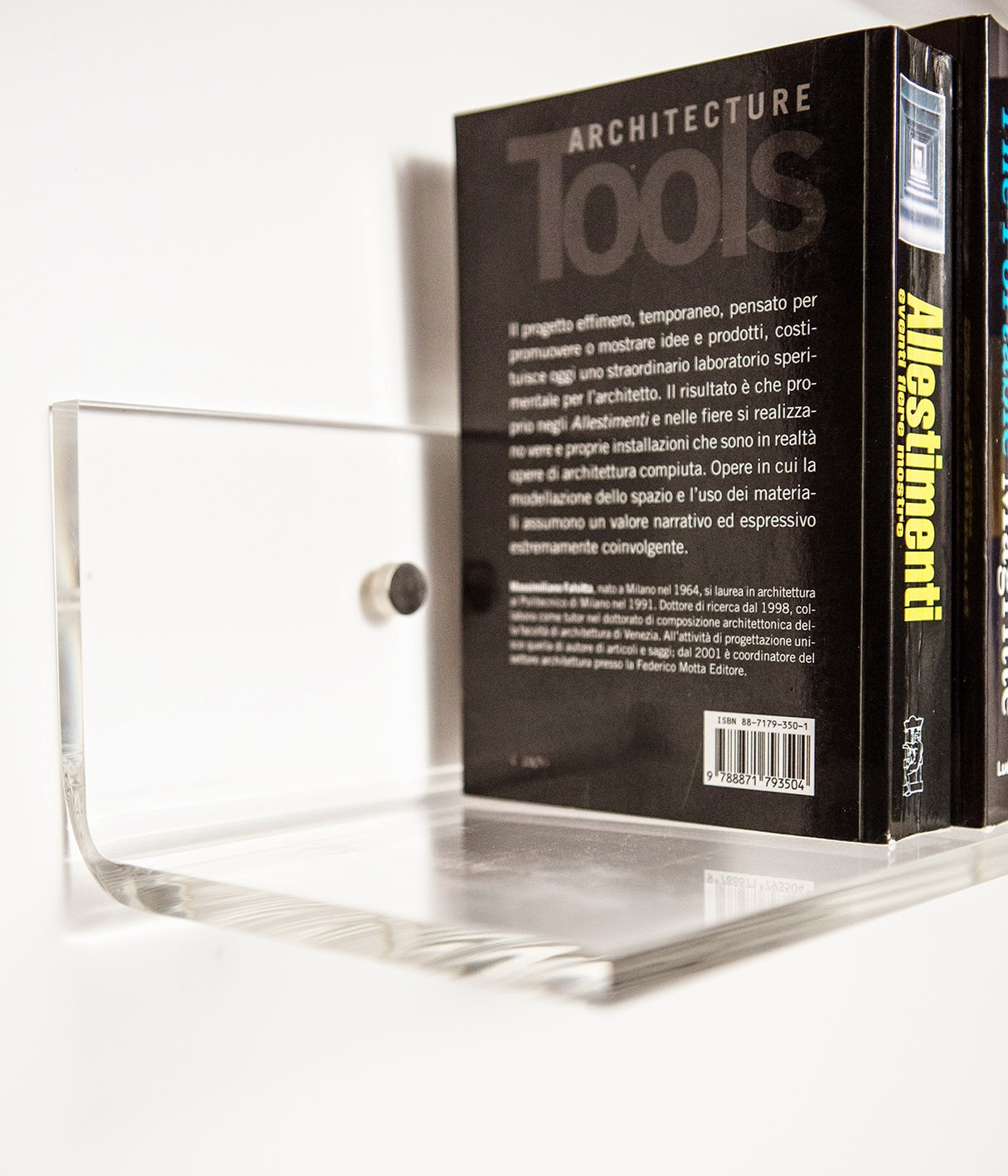 Mensole in plexiglass