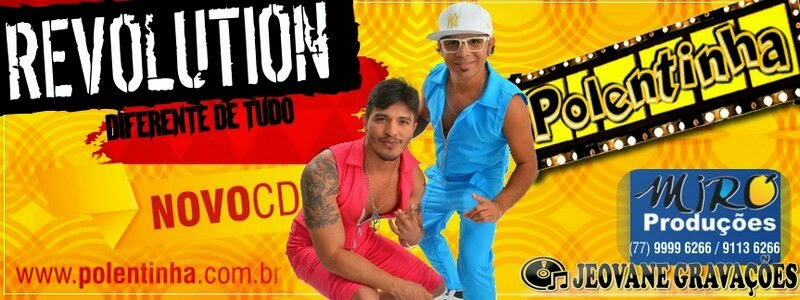 POLENTINHA DO ARROCHA REVOLUTION CD 2015