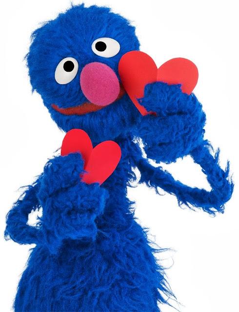 Vila Sésamo desenho colorido Grover