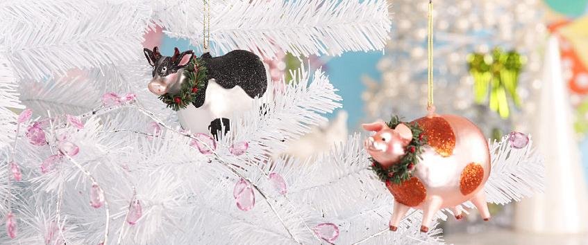christmas pig decoration
