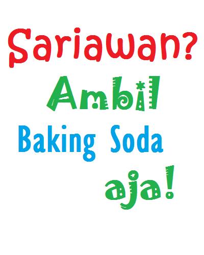 baking soda obat alami sariwan