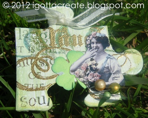 Puzzle Piece Lucky Charms for #StPatrick Day! | 3 styles at I Gotta Create!