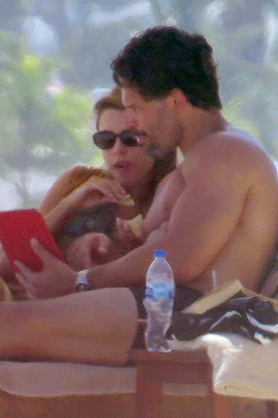 Sofia Vergara and Joe Manganiello in Mexico