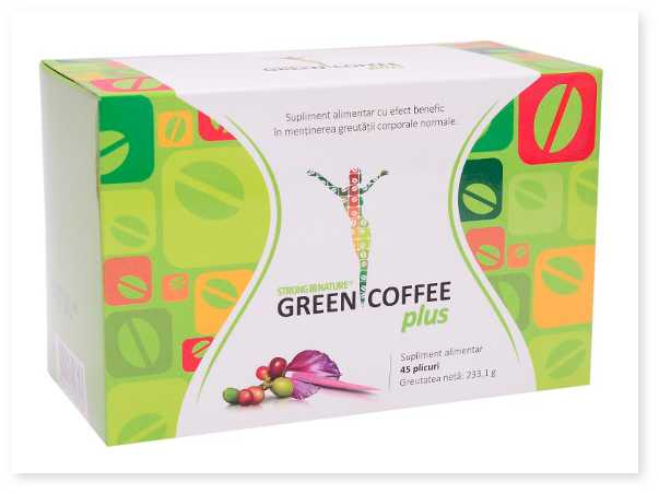 Informatii despre produsul alimentar Green Coffee plus