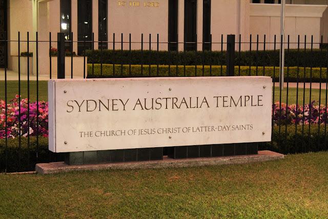 sydney temple.