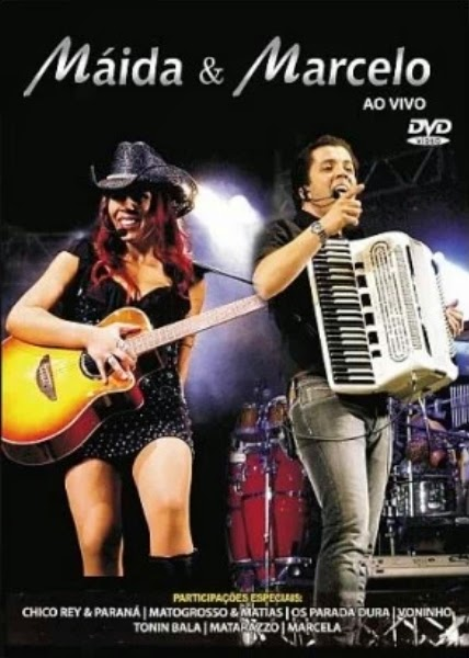 DVD Maida e Marcelo - Ao Vivo (2009)