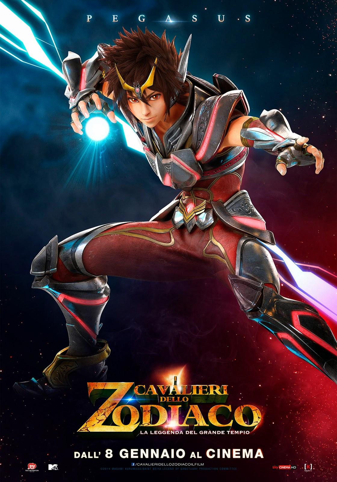 I Cavalieri dello Zodiaco - La Leggenda del Grande Tempio
