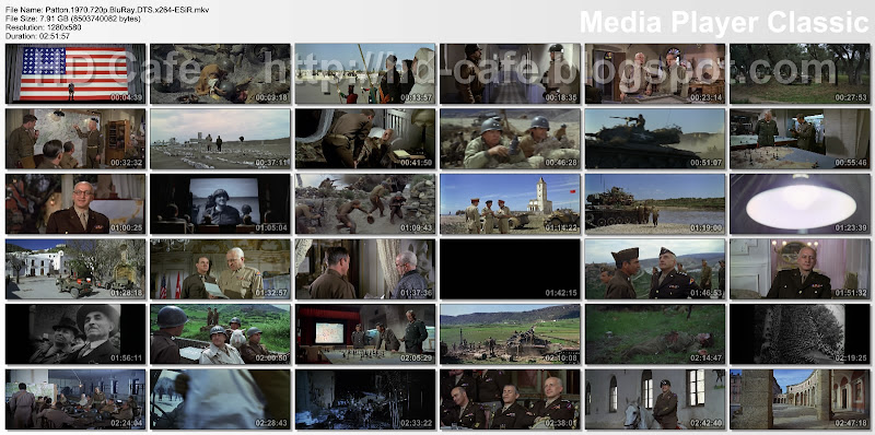 Patton 1970 video thumbnails