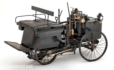 De Dion Bouton Steam Quadricycle (1890)