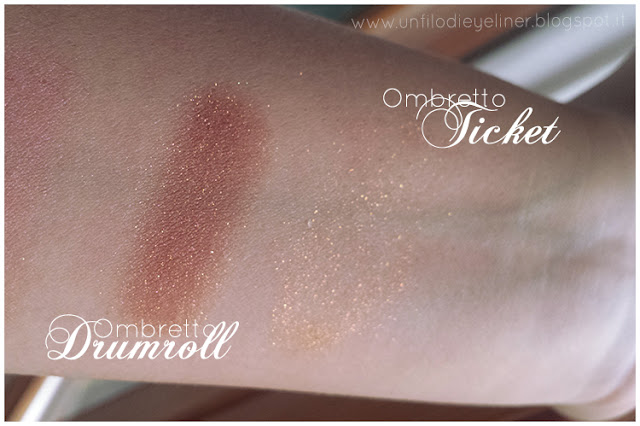 Art Circus - Neve Cosmetics Drumroll Ticket swatch