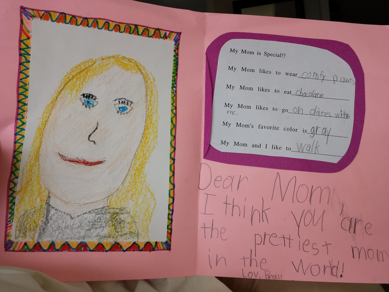 Mothers Day Project Ideas First Grade