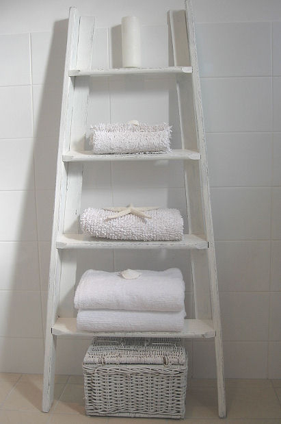 Life As A Moodboard Ladder As A Blanket Rack